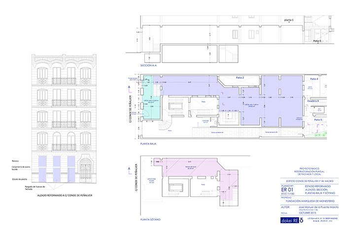 Rehabilitación de Edificio en C/ Conde de Peñalver, Madrid